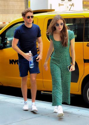 Hailee Steinfeld and Niall Horan - Shopping at Saks Fifth Avenue in NYC