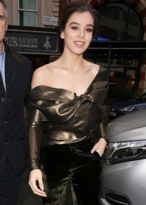 Hailee Steinfeld - Arrives at BUILD LDN at the AOL Studios in London