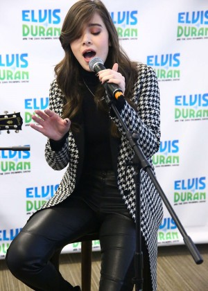 Hailee Steinfeld at The Elvis Duran Z100 Morning Show in NYC