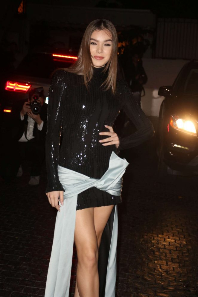 Hailee Steinfeld – Audi Arrivals at W Magazine's Best Performances Party in LA