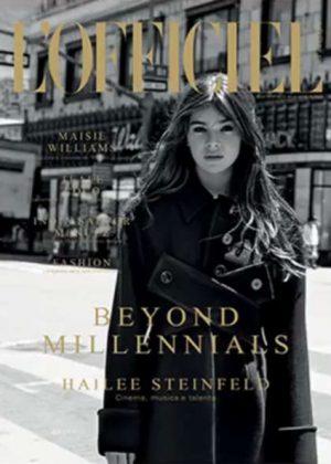 Hailee Steinfeld by Naj Jamai for L'Officiel Italy (September 2016)