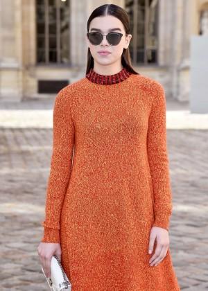 Hailee Steinfeld - Christian Dior Fashion Show 2015 in Paris