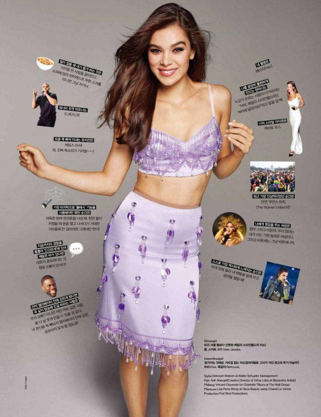 Hailee Steinfeld - Cosmopolitan Korea Magazine (May 2018)