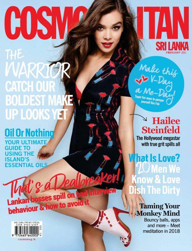 Hailee Steinfeld – Cosmopolitan Sri Lanka Cover (February 2018)