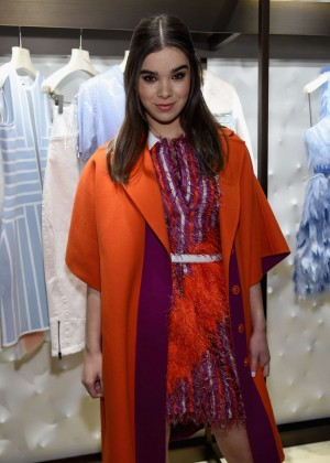 Hailee Steinfeld - Fendi New York Flagship Boutique Inauguration Party in NYC