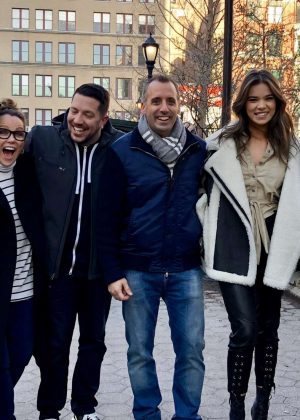 Hailee Steinfeld - Filming 'Impractical Jokers' in NYC