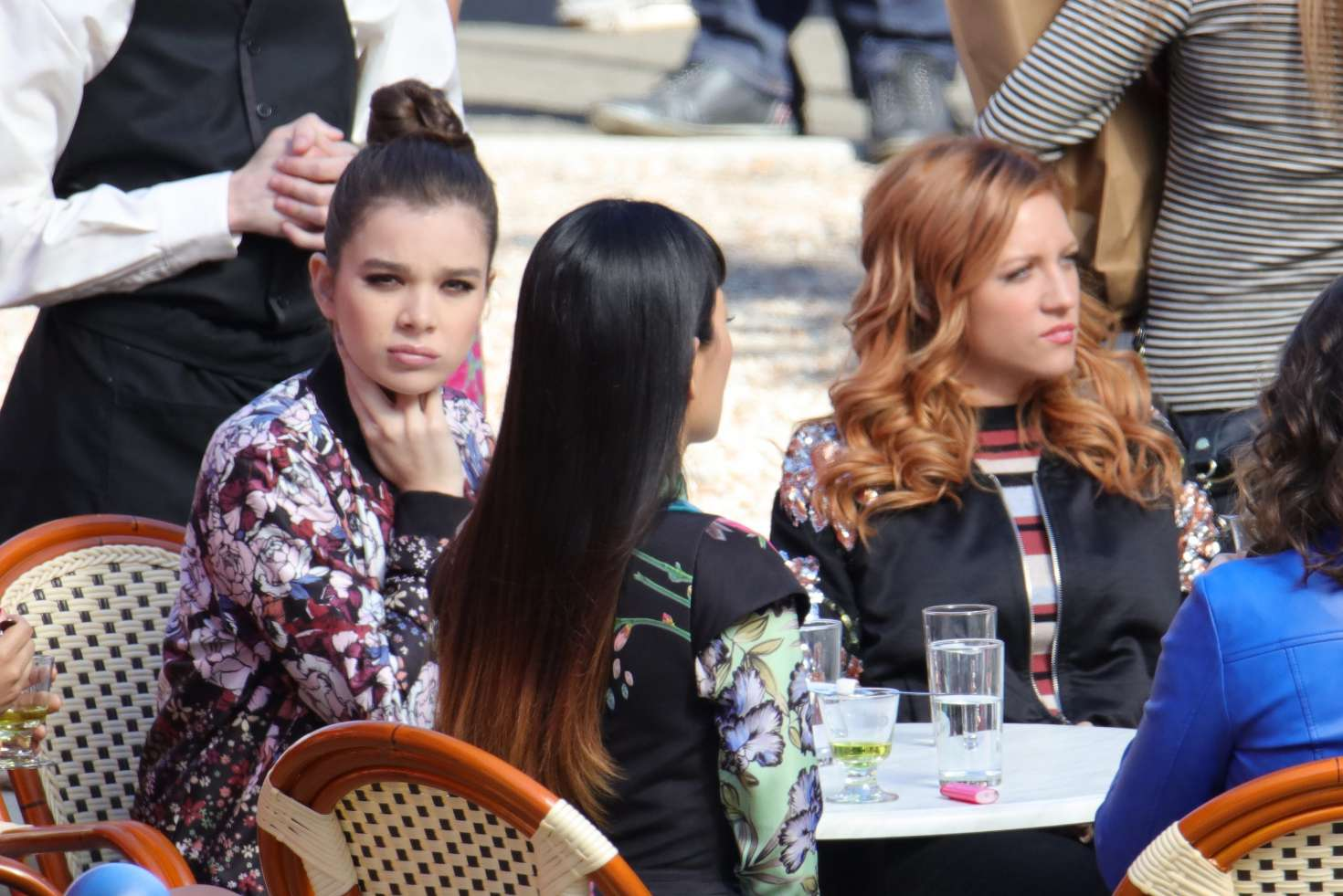 pictures Hailee steinfeld filming pitch perfect
