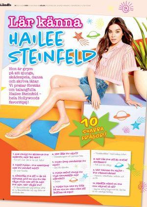 Hailee Steinfeld - Julia Magazine (June 2018)