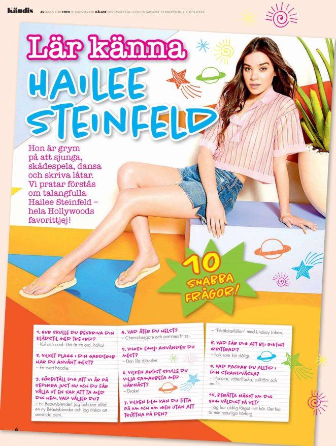Hailee Steinfeld – Julia Magazine (June 2018)