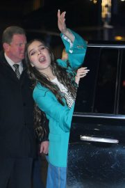 Hailee Steinfeld - Leaves 'The Late Show With Stephen Colbert