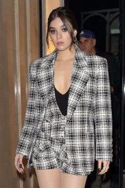 Hailee Steinfeld - Leaving Claridge's Hotel in London