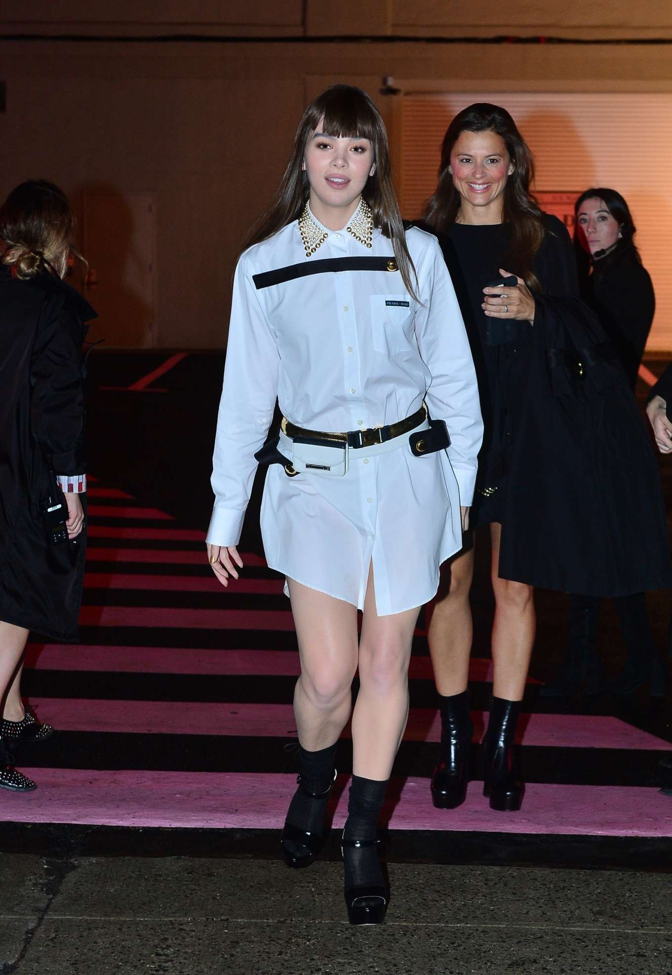 Hailee Steinfeld 2019 : Hailee Steinfeld: leaving the Prada Resort 2020 Collection show in NYC-08