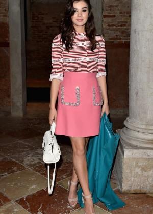 Hailee Steinfeld - Miu Miu's 'Women's Tales' Dinner in Venice