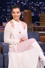 Hailee Steinfeld - On 'The Tonight Show Starring Jimmy Fallon' in NYC adds