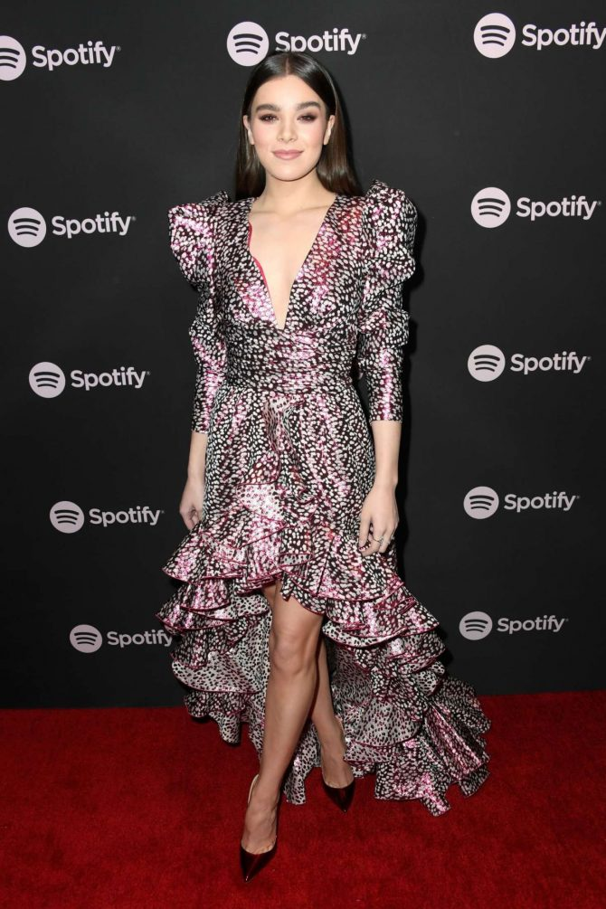 Hailee Steinfeld - Spotify 'Best New Artist 2019' Event in LA
