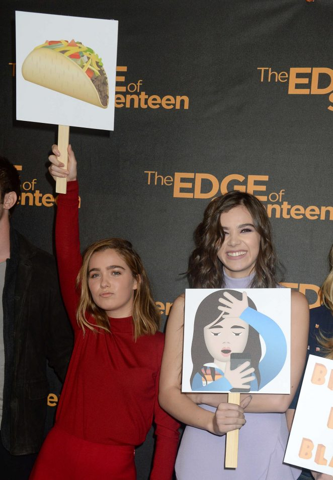 Hailee Steinfeld: The Edge of Seventeen Photocall -18