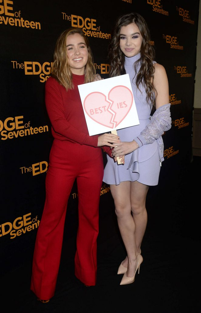 Hailee Steinfeld: The Edge of Seventeen Photocall -33