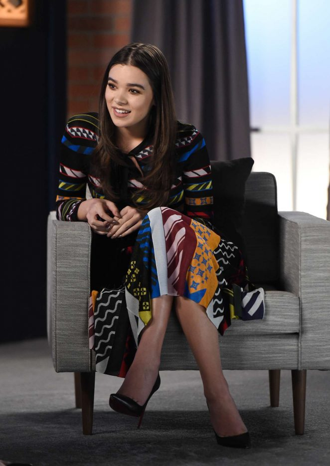 Hailee Steinfeld - Variety Studio 'Actors on Actors' in Los Angeles