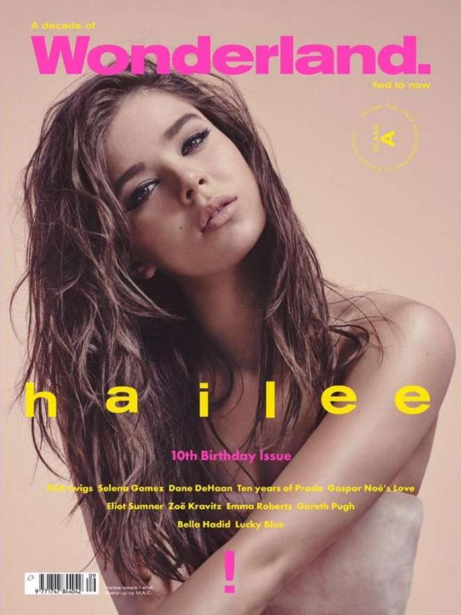 Hailee Steinfeld – Wonderland Magazine (August 2015)