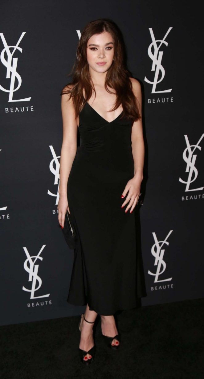 Hailee Steinfeld - Yves Saint Laurent Beauty in West Hollywood