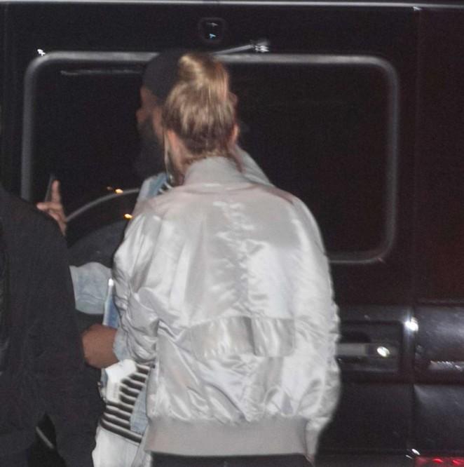 Hailey Baldwin: 1OAK nightclub in West Hollywood -01