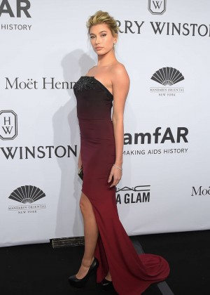Hailey Baldwin - amfAR New York Gala 2015