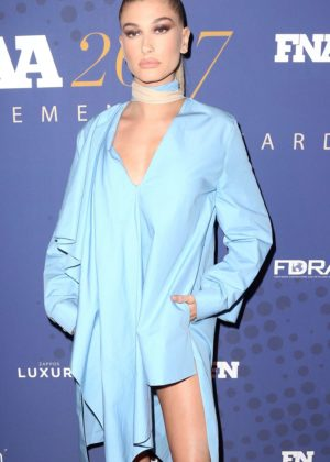 Hailey Baldwin - 2017 FN Achievement Awards in New York City
