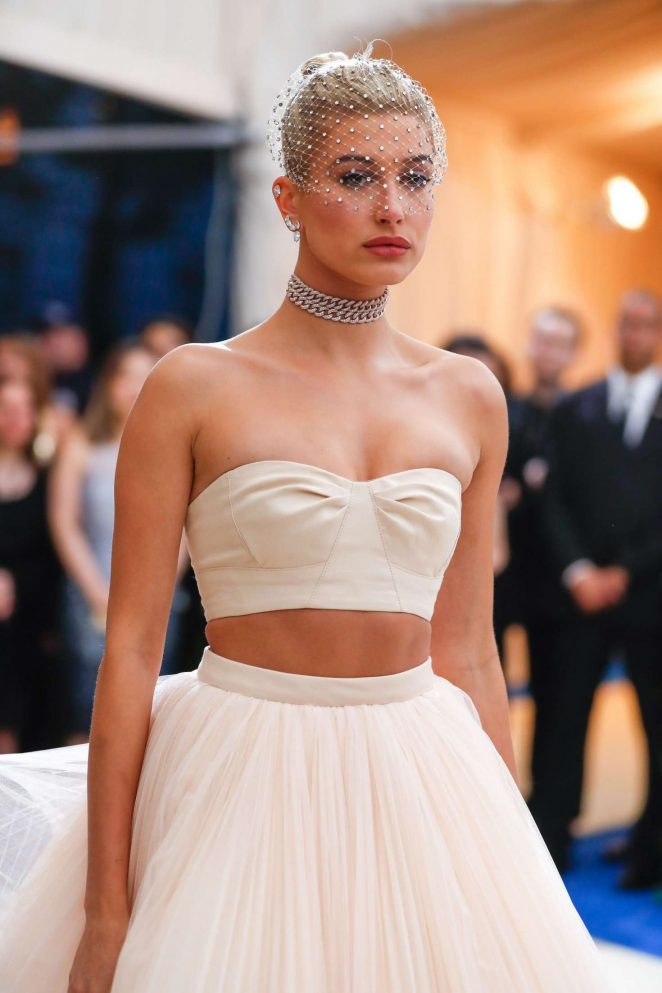 Hailey Baldwin - 2017 MET Costume Institute Gala in NYC