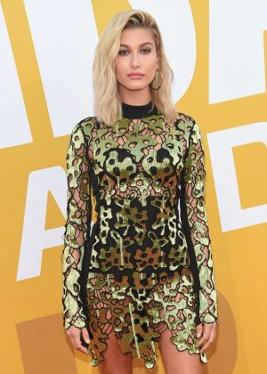 Hailey Baldwin - 2017 NBA Awards in NYC