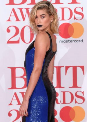 Hailey Baldwin - 2018 Brit Awards in London