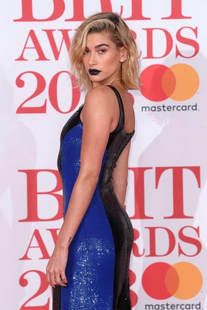 Hailey Baldwin - 2018 Brit Awards in London