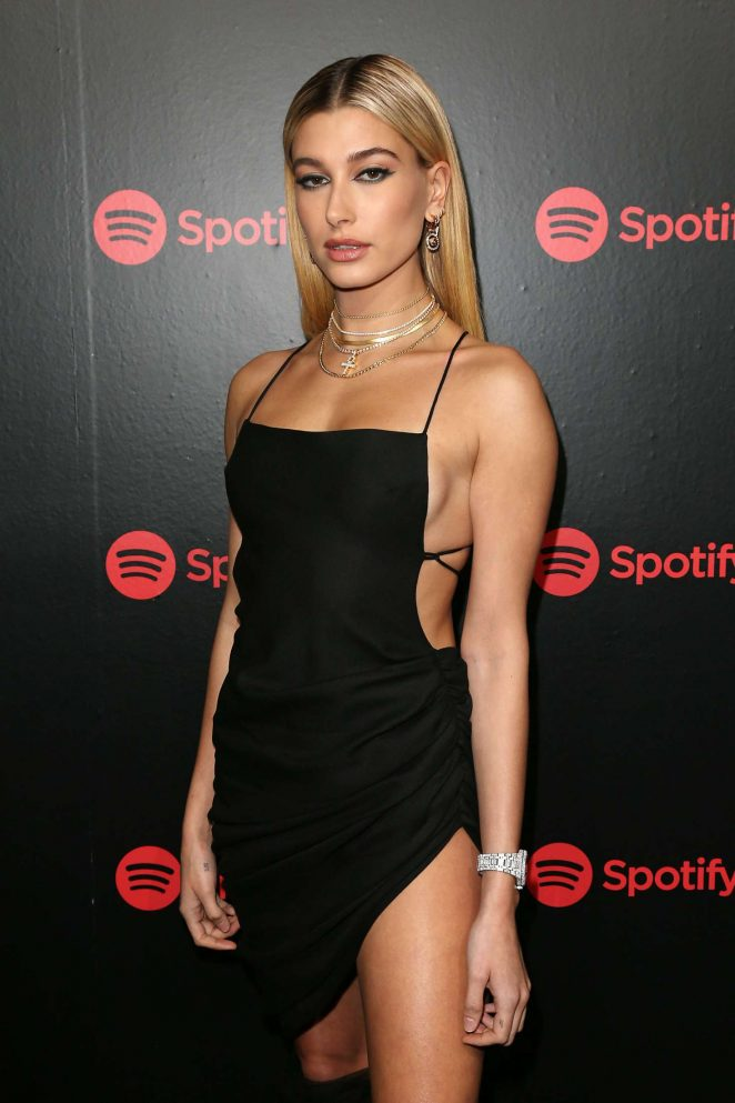 Hailey Baldwin 2018 Spotify S Best New Artist Party In Nyc
