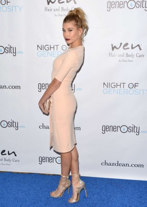 Hailey Baldwin - 7th Annual Night Of Generosity Gala in Beverly Hills
