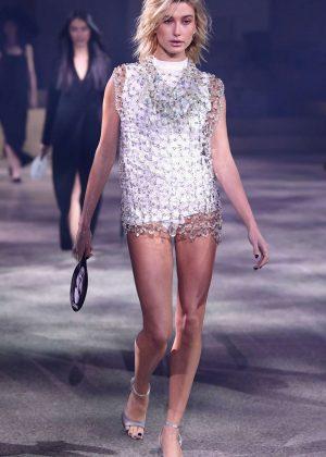 Hailey Baldwin - ADR Beyond Fashion Show 2018 in Milan