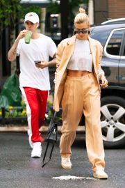 Hailey Baldwin and Justin Bieber - Out and about in NYC