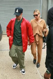 Hailey Baldwin and Justin Bieber - Out for a lunch in NYC