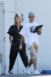 Hailey Baldwin and Justin Bieber - Out in LA