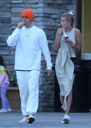 Hailey Baldwin and Justin Bieber - Out in Los Angeles