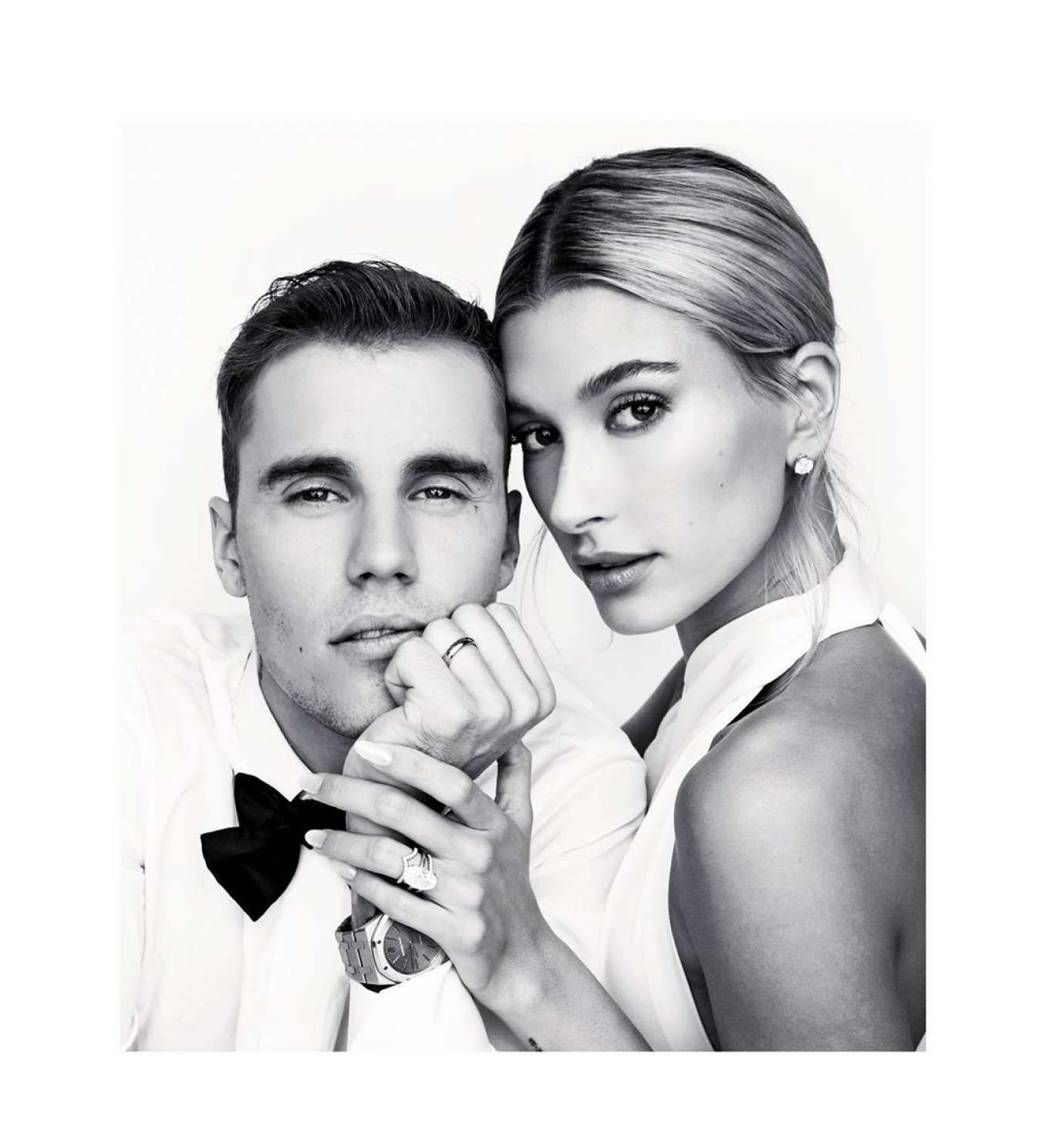 Hailey Baldwin and Justin Bieber - The Collective You Photoshoot 2019