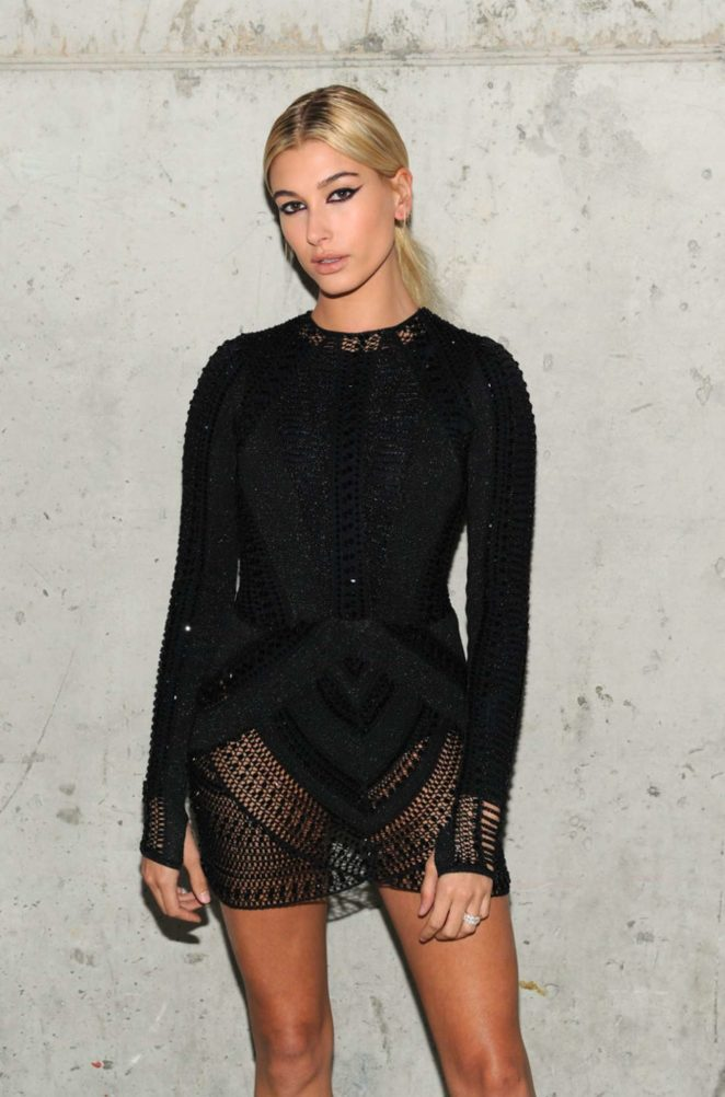 Hailey Baldwin – Art + Commerce: The Exhibition in NYC