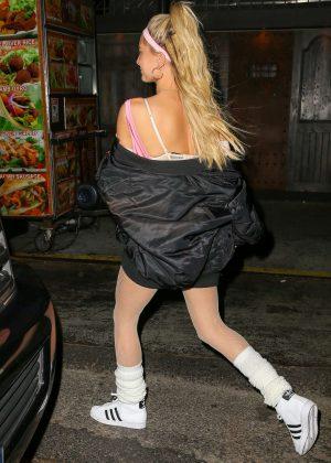 Hailey Baldwin at La La Anthony Halloween Party in NY