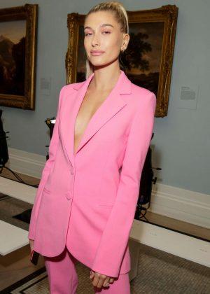 Hailey Baldwin - Carolina Herrera Fashion Show in NYC