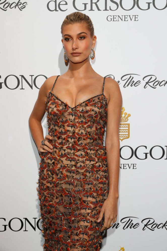 Hailey Baldwin - De Grisogono Party at 70th Cannes Film Festival in France