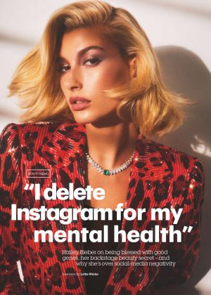Hailey Baldwin - Glamour UK Magazine (February 2019)