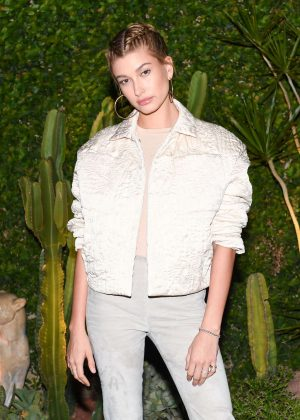 Hailey Baldwin - H&M Conscious Exclusive Collection Dinner in Los Angeles