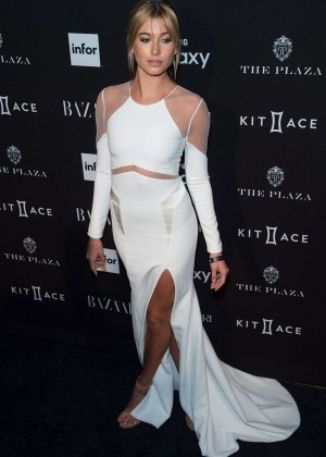 Hailey Baldwin - Harpers Bazaar ICONS Event in NY