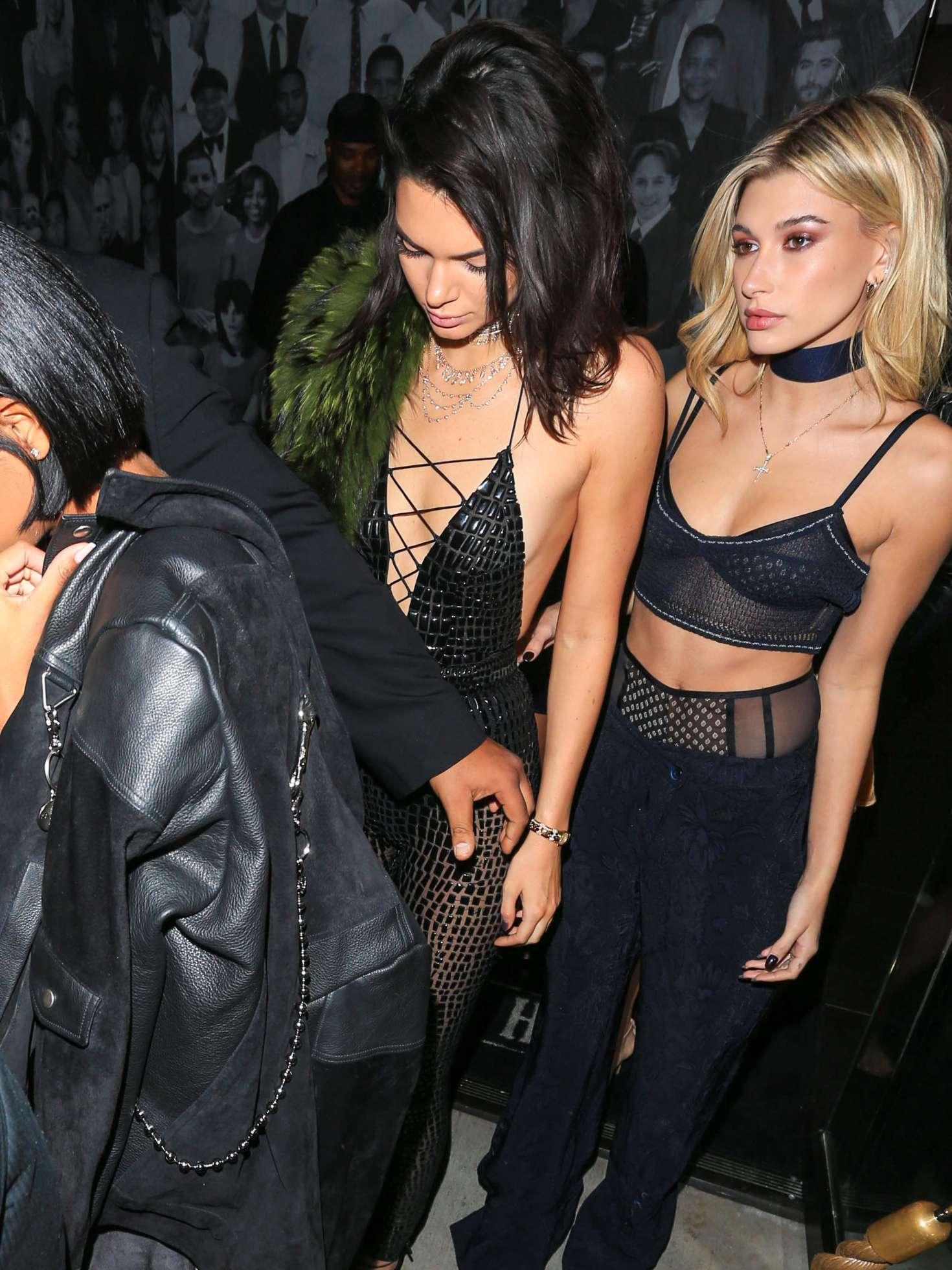 Hailey Baldwin Kendall Jenner Birthday Party 16 Gotceleb