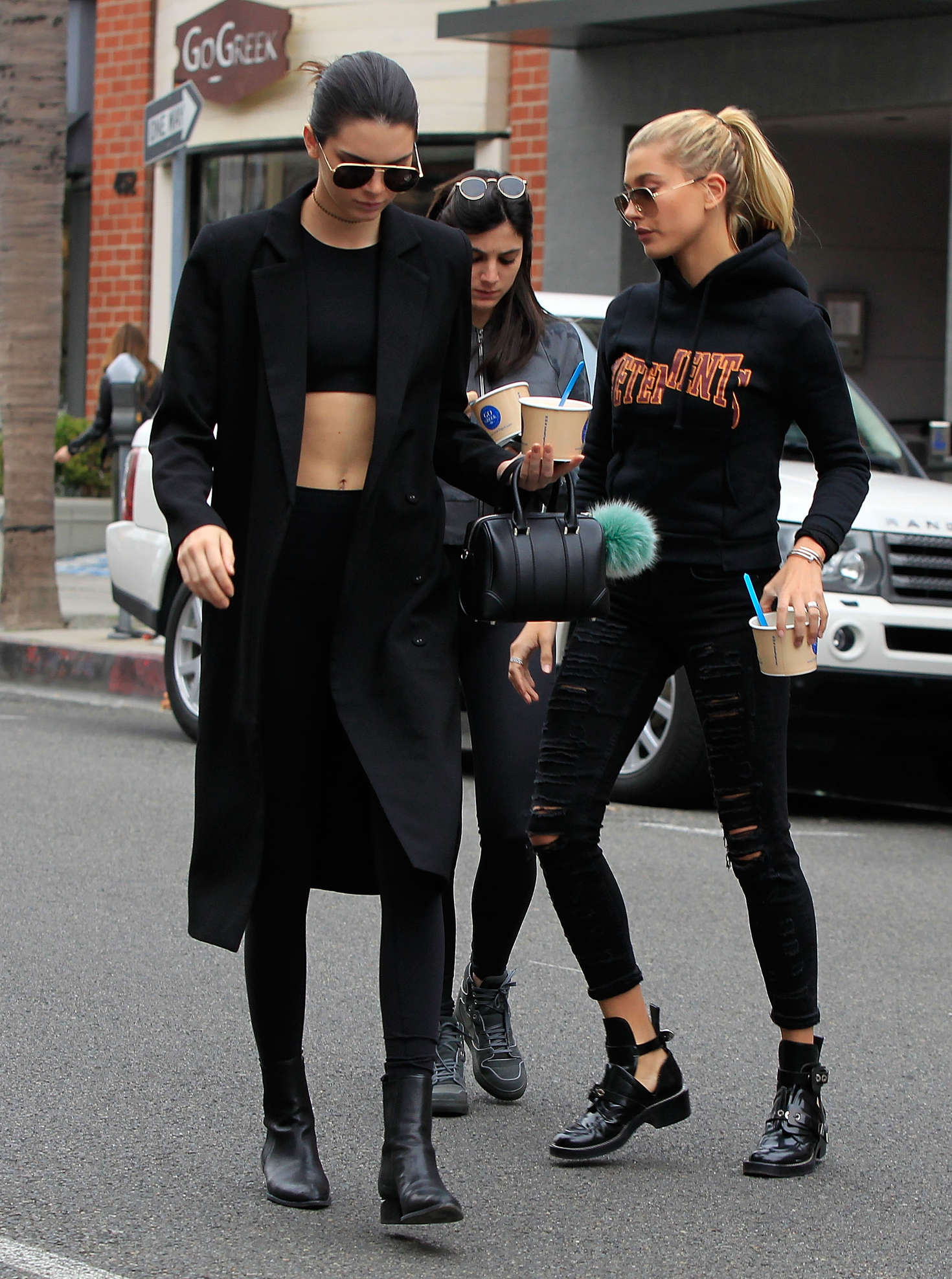 Hailey Baldwin & Kendall Jenner out and about in Los Angeles