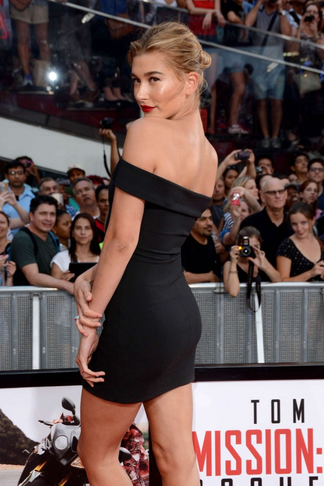 Hailey Baldwin - 'Mission: Impossible - Rogue Nation' Premiere in NYC adds