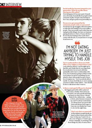 Hailey Baldwin - OK Australia Magazine (November 2016)